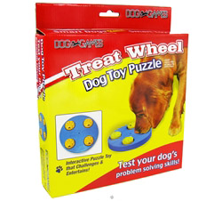 Dog Games Treat Wheel Toy Puzzle CLEARANCE PRICED