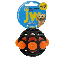 Arachnoid Ball Small Dog Toy