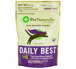 Daily Best for Cats Soft Chews Chicken Liver Flavored
