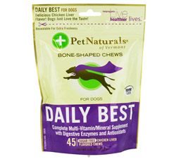 Daily Best for Dogs Soft Chews Chicken Liver Flavored