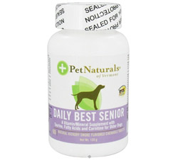 Daily Best Senior Dog Natural Hickory Smoke Flavored