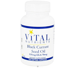 Black Currant Seed Oil with GLA 535 mg/70mg
