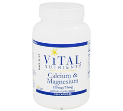 Calcium and Magnesium 225mg/75mg