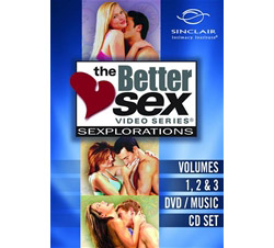 Better Sex Series Sexplorations 3 Pack Special of Vols. 1 2 & 3 with Bonus