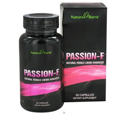 Passion-F Natural Female Libido Enhancer (Formerly Natural Burst)