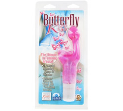 Butterfly Kiss Waterproof Massager Pink