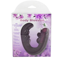 Body Blossom 5X G-Spot/Clitoris Stimulator Purple