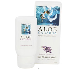 Natural Aloe Personal Lubricant French Lavender