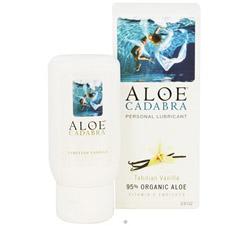 Natural Aloe Personal Lubricant Tahitian Vanilla