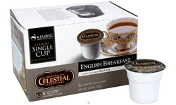 Celestial Seasonings English Breakfast Black Tea 12 K-Cups