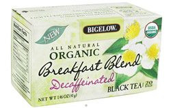 All Natural Organic Black Tea Decaffeinated Breakfast Blend