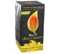 Wu-Yi Ultra Cleanse Decaf Tea Apple Cinnamon