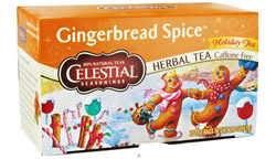 Gingerbread Spice Holiday Herb Tea Caffeine Free