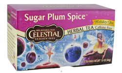 Sugar Plum Spice Holiday Herb Tea