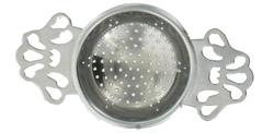 English Tea Strainer Chrome