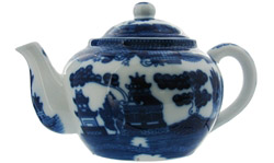 Teapot with Infuser Blue Willow
