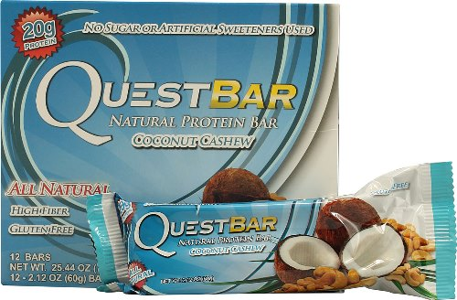 QuestBar Natural Protein Bar Coconut Cashew